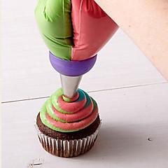 billige Bakeredskap-Bakeware verktøy Rustfritt Stål Kake Til Småkake Pai Dekorasjonsverktøy 1pc