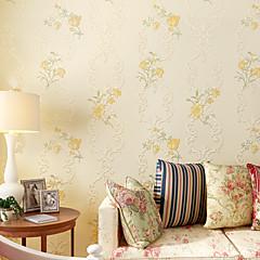 billige Tapet-Blomstret Hjem Dekor Moderne Tapetsering, Ikke vævet papir Materiale selvklebende nødvendig bakgrunns, Tapet