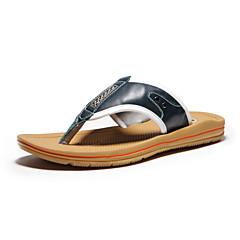 メンズ 靴 レザー 夏 コンフォートシューズ 用途 カジュアル ブルー
