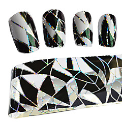 100cmx4cm termotransferové fólie Polsko manikúra módní tipy DIY dekorativních nehty samolepky stzxk11