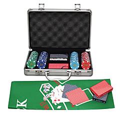 300 jeu de puces aluminium carte à puce d'emballage abs