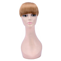 cheap Wigs & Hair Pieces-popular clip in synthetic bang with full bang