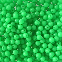 """100 יח ' פתיונות דיג חבילות פיתיון ירוק g/אונקיה,5mm mm/<1"""" אינץ ',פלסטיק קשיח פלדת אל חלד/ברזלדיג בים דיג בחכה הטלת פיתיון דיג קרח"""
