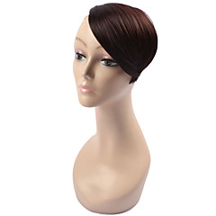 cheap Wigs & Hair Pieces-Gold Black Brown Blonde Red Wine Straight Bangs Fringe 0.03kg Synthetic Hair Hair Piece Hair Extension Straight