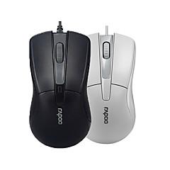 billiga Möss-orginal Rapoo n1162 trådbunden mus USB 2.0 pro spelmus optiska möss för PC kontor svart / vit