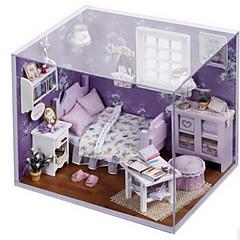 Tue so als ob du spielst Spielzeuge Heimwerken Haus Holz Stücke Mädchen Geburtstag Geschenk