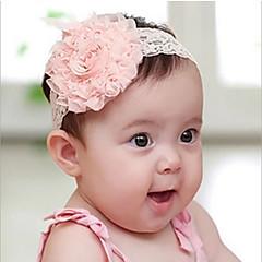 Χαμηλού Κόστους Παιδικά Αξεσουάρ-Κοριτσίστικα Αξεσουάρ Μαλλιών Κεφαλόδεσμοι Όλες οι εποχές Tweed - Λευκό Ροζ