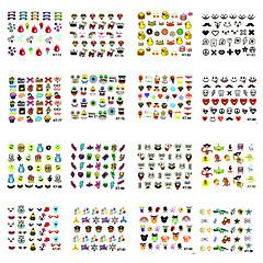 baratos -Nail Art prego etiqueta Autocolantes de Unhas 3D
