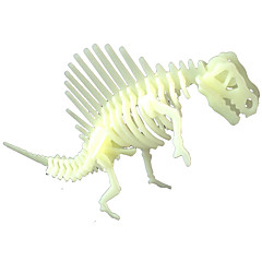 LED照明 DIYキット ステッカー ジグソーパズル おもちゃ 恐竜 蛍光型 夜光計 DIY 小品