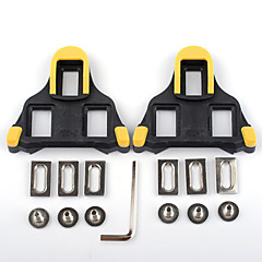cheap Bike Parts & Components-XPT / SPD 6 Degree Float Cleat / Cleat Set Road Bike Durable Compatible With SHIMANO Non-Skid Synthetic - Yellow/Black Yellow/Red
