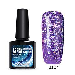 billige Neglelakk og gellakk-Neglelakk UV-Gel 0.01 1 Tørke Glitters UV Color Gel Shimmering Dypp av langvarig Tørke Glitters UV Color Gel Shimmering