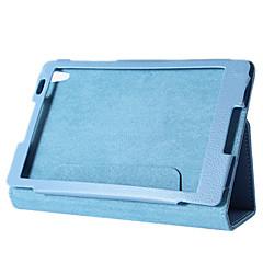 """Etuier med stativ Etuier med håndholdte bånd PU skinn Tilfelle dekke for 8 """" Lenovo IdeaPad"""