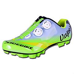 baratos Sapatos de Ciclismo-SIDEBIKE Homens Tênis para Mountain Bike / Sapatos para Ciclismo Fibra de Carbono / Borracha Anti-Escorregar, Respirável, Anti-desgaste