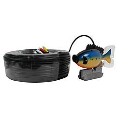 halradar víz alatti kamera 100m kábel CCD színes kamera víz alatti videó halászati kamera 3w led