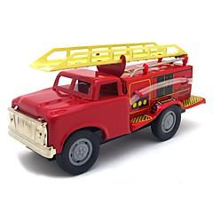 Terugtrekauto/Inertie-auto Opwindspeelgoed Speelgoedauto's Trein Brandweerwagen Speeltjes Trein Metaal Stuks Geschenk