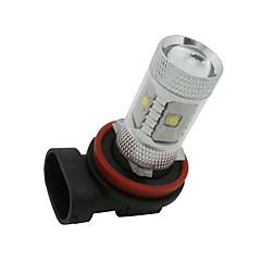 olcso -2 x fehér nagy teljesítményű 30W H11 LED-izzók DRL köd / távolsági fény lámpa 12v-24v