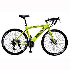 Road Bikes Kerékpározás 21 Speed 26 hüvelyk/700CC 40mm Férfi Női Unisex Felnőtt SHIMANO TX30 Dupla tárcsafék Szokásos Monocoque Szokásos