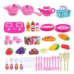 """Joacă Seturi de jucărie de bucătărie Aparatele de gătit pentru copii """" Jucarii Legume Fruct Reparații 54 Bucăți"""