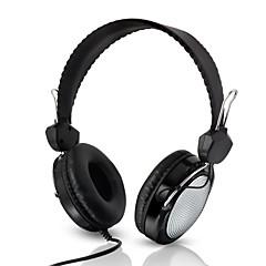 billiga Over-ear-hörlurar-Kubite T-420 På örat / Headband Kabel Hörlurar Plast Mobiltelefon Hörlur Med volymkontroll / mikrofon / Ljudisolerande headset