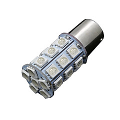 billige Baklys til bil-10x rød 1 157 bay15d 5050 27-SMD LED pærer hale brems sving lys 7528 2 057 1157a