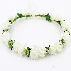 56b1490253e Dámské   Dívčí Květinový   Sladký Květiny Čelenka Krajka   Slitina
