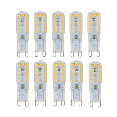 billiga Dekorativ belysning-YWXLIGHT® 10pcs 6 W 450-550 lm G9 LED-lampor med G-sockel T 22 LED-pärlor SMD 2835 Bimbar / Dekorativ Varmvit / Kallvit / Naturlig vit 220-240 V / 110-130 V / 10 st / RoHs
