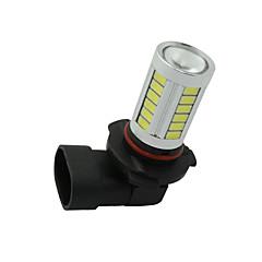 2pcs הסתיר H8 H11 33-5730-SMD הלבן הוביל להחליף נורות לנורות יום ערפל המכונית 12-24v