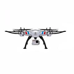 billige Fjernstyrte quadcoptere og multirotorer-RC Drone SYMA X8G 4 Kanaler 6 Akse 2.4G Med HD-kamera Fjernstyrt quadkopter Hodeløs Modus Flyvning Med 360 Graders Flipp Sveve Med kamera