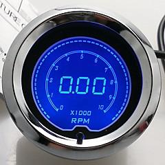 """2 """"(52mm) LCD digitális 7 színes kijelző fordulatszámmérő fordulat mérő / auto gauge"""