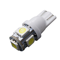 billige Interiørlamper til bil-SO.K 10pcs T10 Bil Elpærer 5 W 160 lm LED interiør Lights