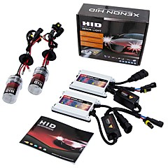cheap Car Lights-Set of AC 55W H7 HID Xenon Headlight Kit with SLIM Ballast 6000K