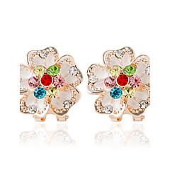 Earring Flower Shape Smykker Dame Mote Bryllup Legering 1 par Utvalgte Farger