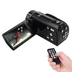Ordro 16x digital zoom 1080p kamera videokamera 3,0-tommers LCD-skjerm, elektronisk bildestabilisering, ansiktsgjenkjenning