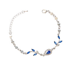 Bracelet/Chain Bracelets Alloy / Resin Leaf Fashionable Daily / Casual Jewelry Gift Silver1pc