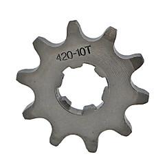 420-10T Tooth Front Engine Sprocket For Mini Motor Quad Dirt Bike 17MM