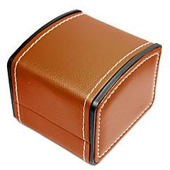 baratos Miçangas & Fabricação de Bijuterias-PU Leather / couro legítimo Pulseiras de Relógio Alça para Preta 20cm / 7.9 Polegadas 2cm / 0.8 Polegadas