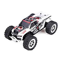 baratos Carros Controle Remoto-Carro com CR WL Toys A999 2.4G 4WD Alta Velocidade Drift Car Off Road Car Monster Truck Bigfoot Carro Jipe (Fora de Estrada) 1:24 25 KM /