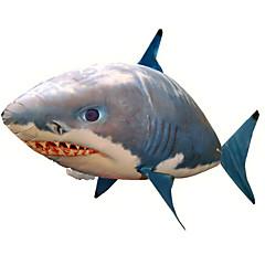preiswerte Sales-Ballons Ferngesteuerter Hai Fliegender Hai Ferngesteuertes Spielzeug 150cm*87cm Shark Clownfische Aufblasbar Kreativ Cool Mädchen Jungen