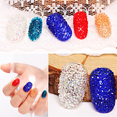 500pcs Nail Art Decoration tekojalokivi Pearls meikki Kosmeettiset Nail Art Design