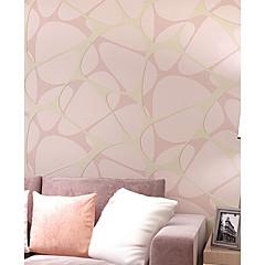 billige Tapet-bakgrunns U-vevet stoff Tapetsering - selvklebende nødvendig Damaskvev / Blomstret / Art Deco