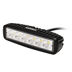 kawell 18W 6,2 90 graders ledet for atv / jeep / båt / suv / lastebil / bil / ATV tenne offroad light bar