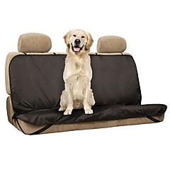 Câine Husă Scaune Mașină Animale de Companie  Rogojini & Pernuțe Mată Impermeabil Pliabil Negru Pentru animale de companie