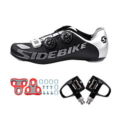 BOODUN/SIDEBIKE® Sneakers Road Bike Shoes With Pedal & Cleats Unisex Cushioning Outdoor Road Bike Cycling