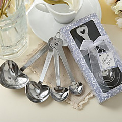 abordables Regalos para Invitados de Boda-10box / set en forma de corazón cucharas de medir favores de la boda beter gifts® favores nupciales de la ducha