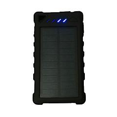 strømbank eksternt batteri 5V 1.0A #A Batterilader Lommelykt Flere utganger Solenergilading LED