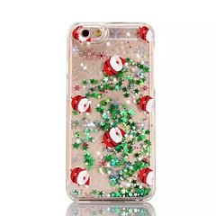 Für iPhone X iPhone 8 iPhone 8 Plus iPhone 7 iPhone 6 iPhone 5 Hülle Hüllen Cover Mit Flüssigkeit befüllt Durchscheinend Muster