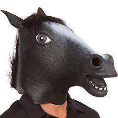 tanie Zabawki nowoczesne i żartobliwe-Maski na Halloween / Maska zwierzęca Głowa konia / Motyw horroru Lateks / Guma Nowość 1 pcs Sztuk Unisex Dla dorosłych Prezent