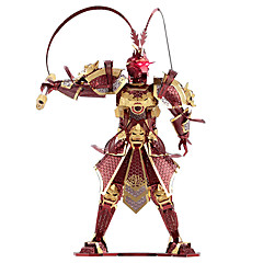 cheap -Sun WuKong 3D Puzzles Metal Puzzles Model Building Kit 1pcs Warrior Monkey King Exquisite Novelty Monkey King Girls' Boys' Toy Gift