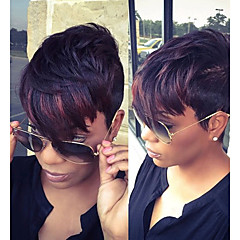 cheap Wigs & Hair Pieces-short synthetic wigs for black women short straight synthetic wigs female synthetic hair wig