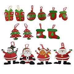 Joulukortit ja -laput Joulukuuset Lelut Joulupukki-asu Paperi Pieces Poikien Tyttöjen Joulu Karnevaali Lahja
